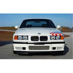BMW E36 naklejki na halogeny i dalekosiężne HELLA