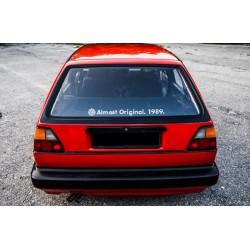 Das Original. VW wlepa na szybę tylną
