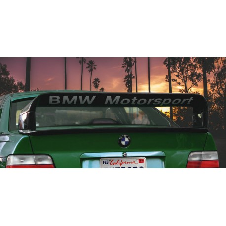 BMW E36 LTW GT Class II naklejka pod spoiler