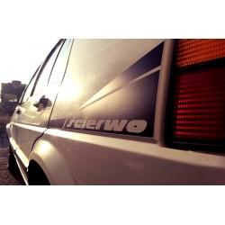 VW Golf / Jetta kalkomania na bok wzór 1