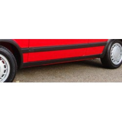 VW Golf II / Jetta A2 okleina progów struktura 3D/5D
