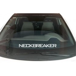 Naklejka na szybę 45cm Neck Breaker