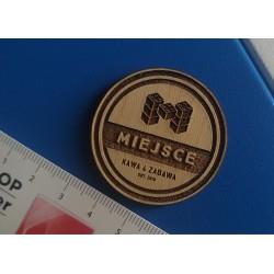 Magnes z Twoim logo/tekstem