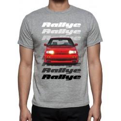 T-shirt VW Golf mk2 RALLYE
