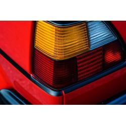 VW Golf II GTI Paski wokół auta czarny mat